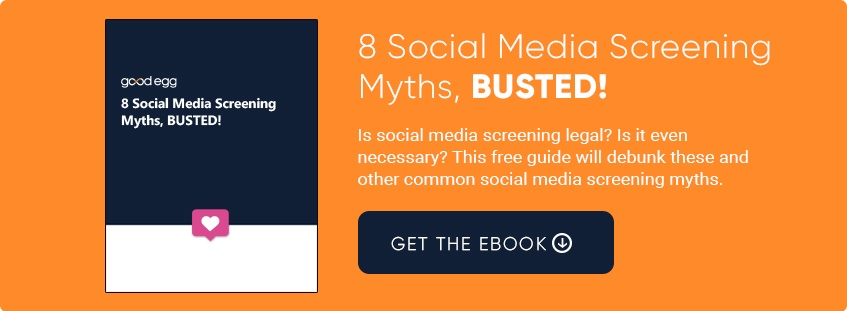 8 Social Media Screening Myths, Busted - Get the eBook
